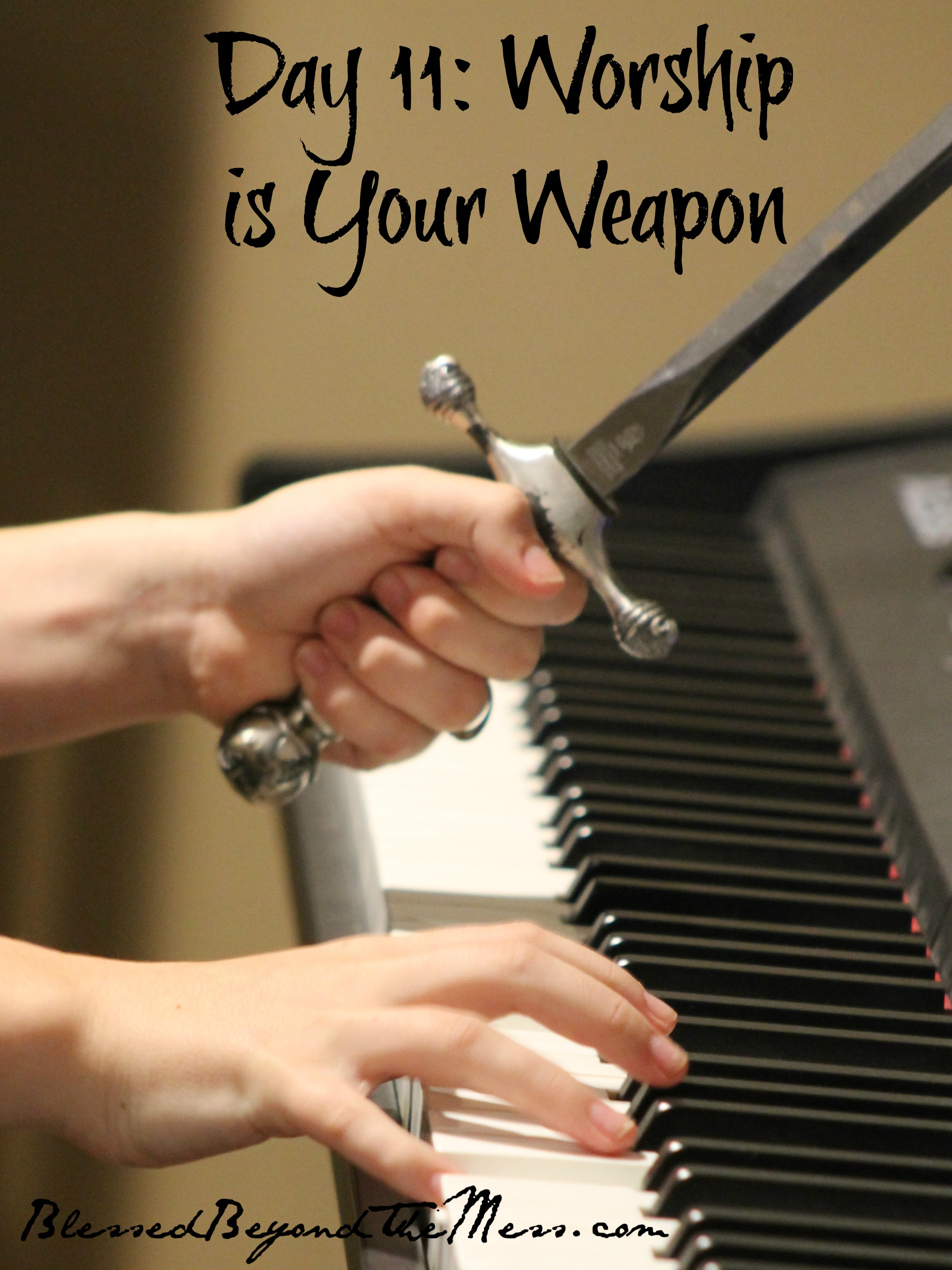 Worship is Your Weapon