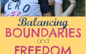 Boundaries and Freedom