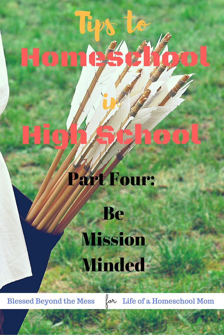 As you prepare to launch your teen into adulthood, know what target you are aiming for.