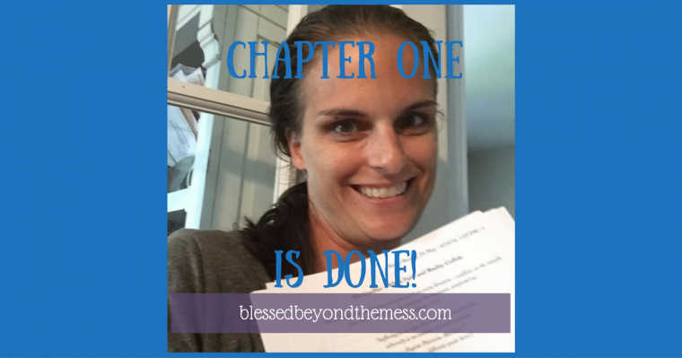 Chapter 1 is done! Follow me as I write my first book.