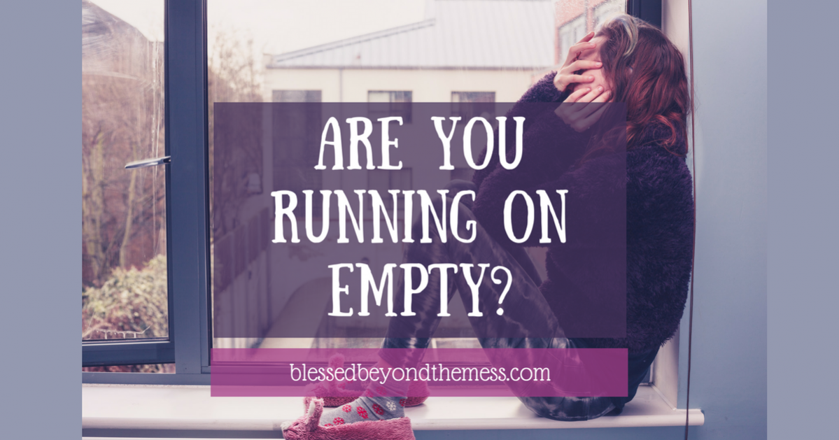 Are you running on empty? Find out how to get filled.