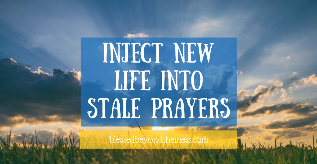 Inject new life into stale prayers with this free prayer guide and community of pray-ers!