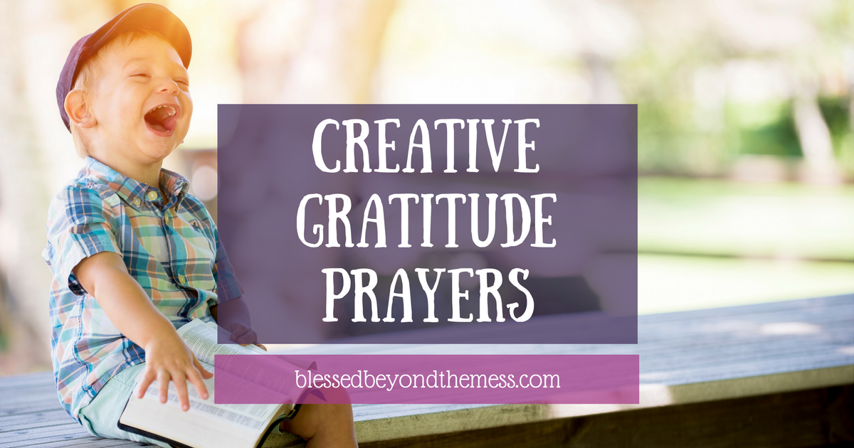 Feeling stuck when it comes to giving thanks? Use these prayer prompts to get going again!