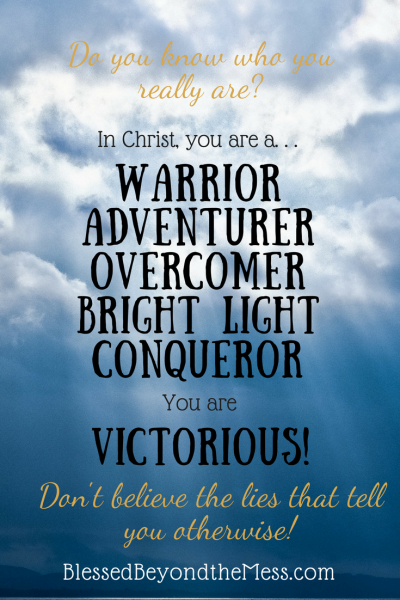 We have two choices in this life. We can victimized or victorious. Which do you want to be?